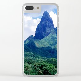 The Land That Time Forgot: Marquesas Tropical Islands Clear iPhone Case