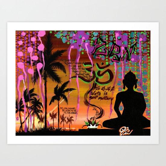 """""""ZAZEN"""" Art Print"""