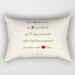 No Eye Has Seen Rectangular Pillow