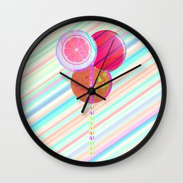 Lollipops Wall Clock