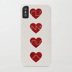 Love Synth iPhone X Slim Case