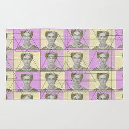 Frida wallpaper Rug