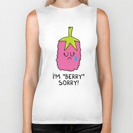 I'm berry sorry Biker Tank