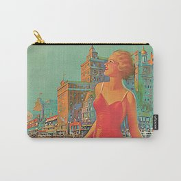Atlantic city vintage bathing beauty Carry-All Pouch