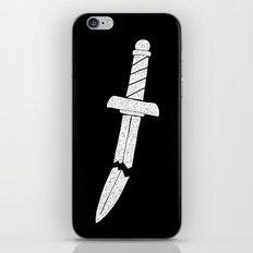BROKEN DAGGER iPhone & iPod Skin