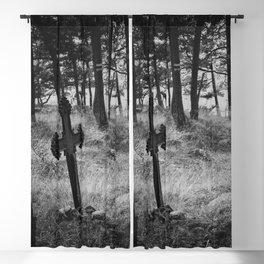 Estonian Gothica Blackout Curtain