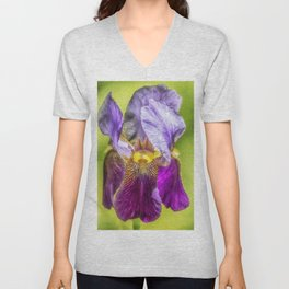 Purple Iris 2018 Unisex V-Neck