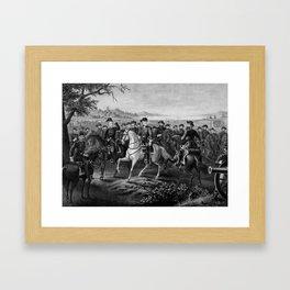 Robert E. Lee and His Generals Framed Art Print