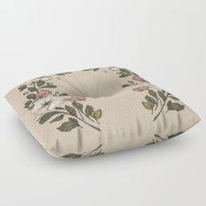 Floral Laurel Floor Pillow
