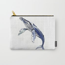 Humpback Whale, whale sea world desocr whale home decor florida beach Carry-All Pouch