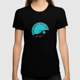 Crocodiles Out Late  T-shirt