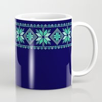 nordic Mugs featuring NORDIC by Oksana Smith