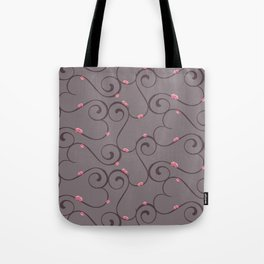Amour Pattern Tote Bag