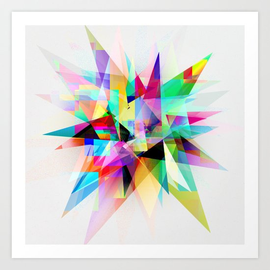Colorful 3 Art Print