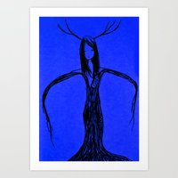 elf Art Prints featuring Elf by Mikhaelle A.