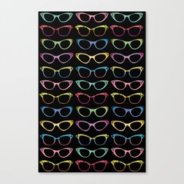 Four Eyes Are Better Than Two Canvas Print