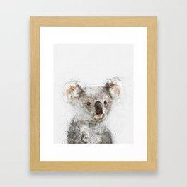 Koala Watercolor Framed Art Print