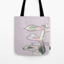 A Succulent With Crayons Tote Bag