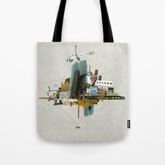 Collage City Mix 3 Tote Bag