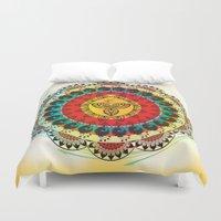 mandala Duvet Covers featuring Mandala by famenxt
