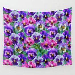 Bouquet of violets I Wall Tapestry