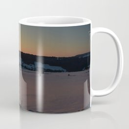 Snowy Yorkshire Sunrise Coffee Mug