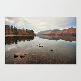 Across Derwentwater Canvas Print