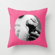 Pink Gelato Throw Pillow
