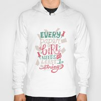 paper towns Hoodies featuring Paper Towns: Paper Girl by Risa Rodil