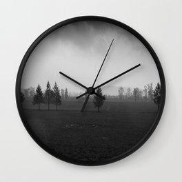 dark and stormy Wall Clock