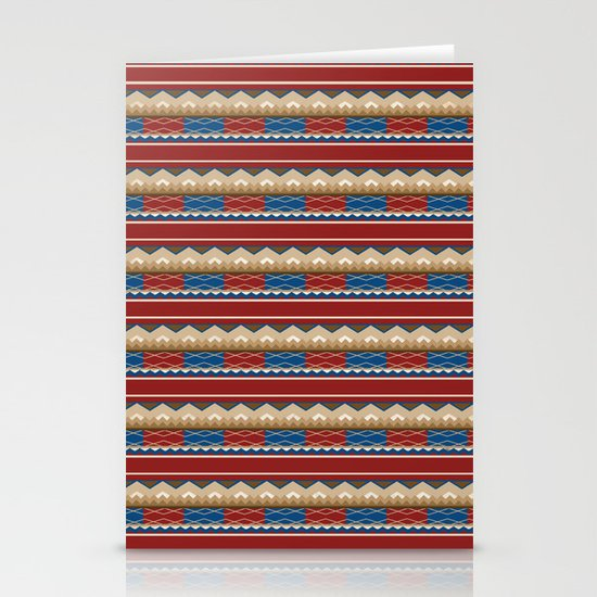 Navajo Pattern 2 Stationery Cards