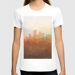 Lubbock, Texas Skyline - In the Clouds T-shirt