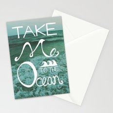 Take me to the Ocean Stationery Cards