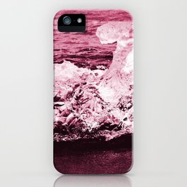 red ice. iPhone Case