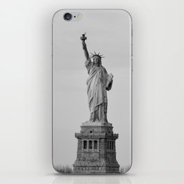 Lady Liberty Stands iPhone Skin