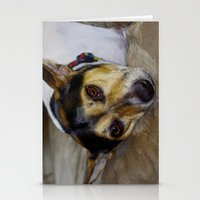 terrier Stationery Cards featuring Terrier by Rick Kirby