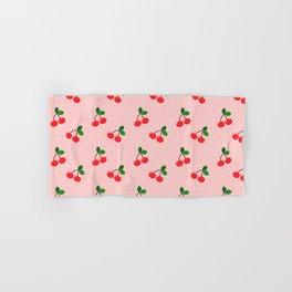 Cherry Bon Bon Hand & Bath Towel