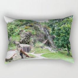 Arrowtown Chinese Settlement, New Zealand Rectangular Pillow