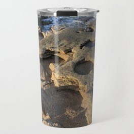 Rocky Beach in Florida Travel Mug