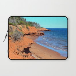 Red Cliffs of PEI Laptop Sleeve