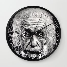The Mind of a Genius Wall Clock
