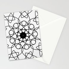 love mandala number 5 - mystery Stationery Cards