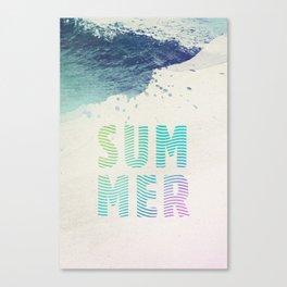 SUM MER Canvas Print