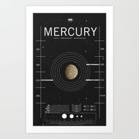 OMG SPACE: Mercury 1970 - 2010 Art Print