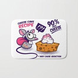 Cheese Cake Bath Mat