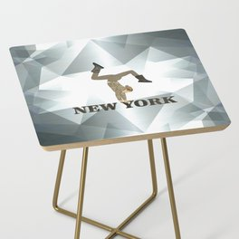 Gymnastics New York Side Table