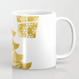 Gold Christmas 03 Coffee Mug