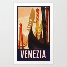 Venezia Italia ~ Venice Italy Travel Art Print