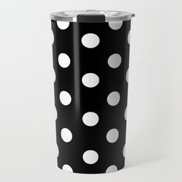 Polka Dot Pattern Travel Mug