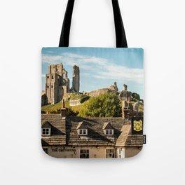 Corfe Castle (2) Tote Bag